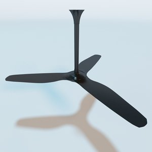 3d model haiku ceiling fan