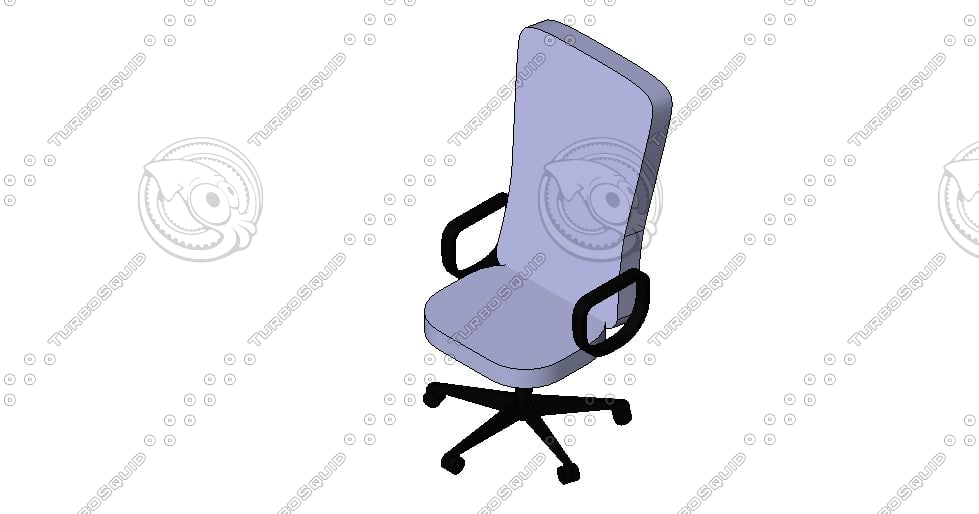 free executive chair revit 2012 3d model