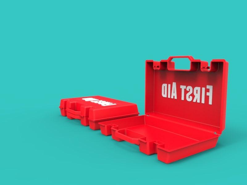 3d aid box model