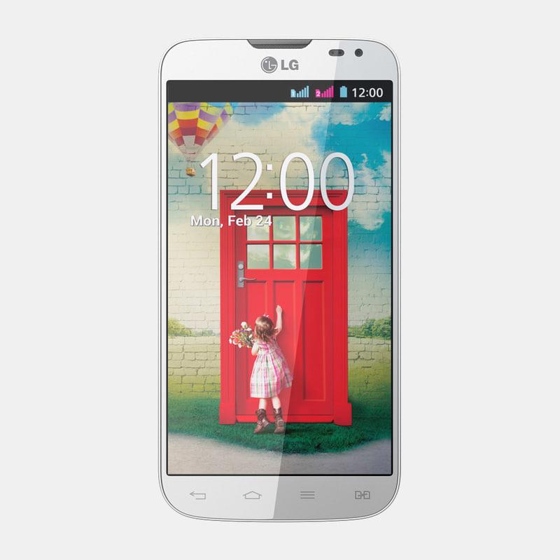 lg l90 dual d410 3d model