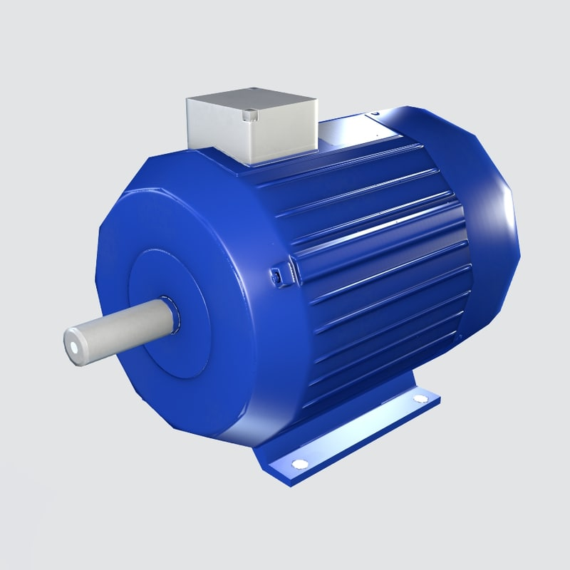 electric motor 3ds