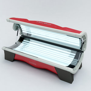 3d tanning bed model