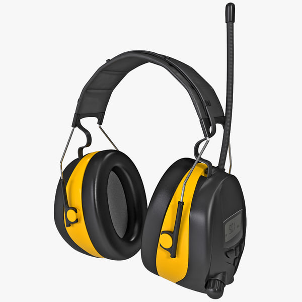 3d protection worktunes ear muff model