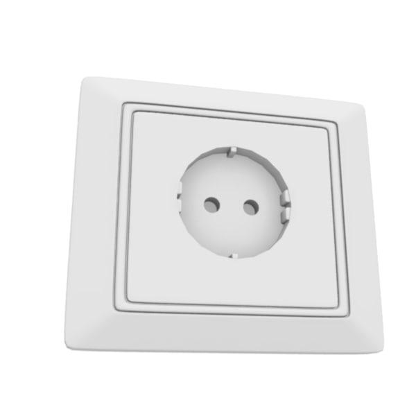 electric socket 3d ma