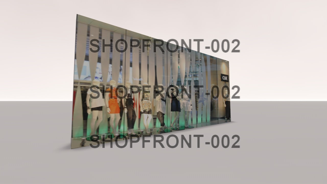 shopfront-002 shop 3d 3ds