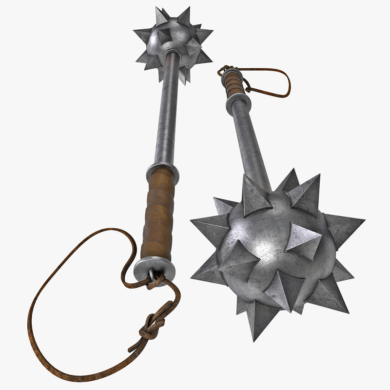 max spiked ball mace
