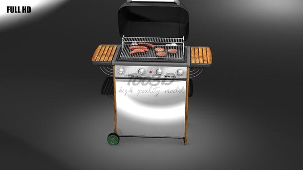 3ds max big barbecue