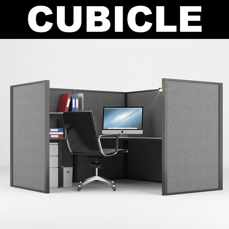 cubicle realistic computer max