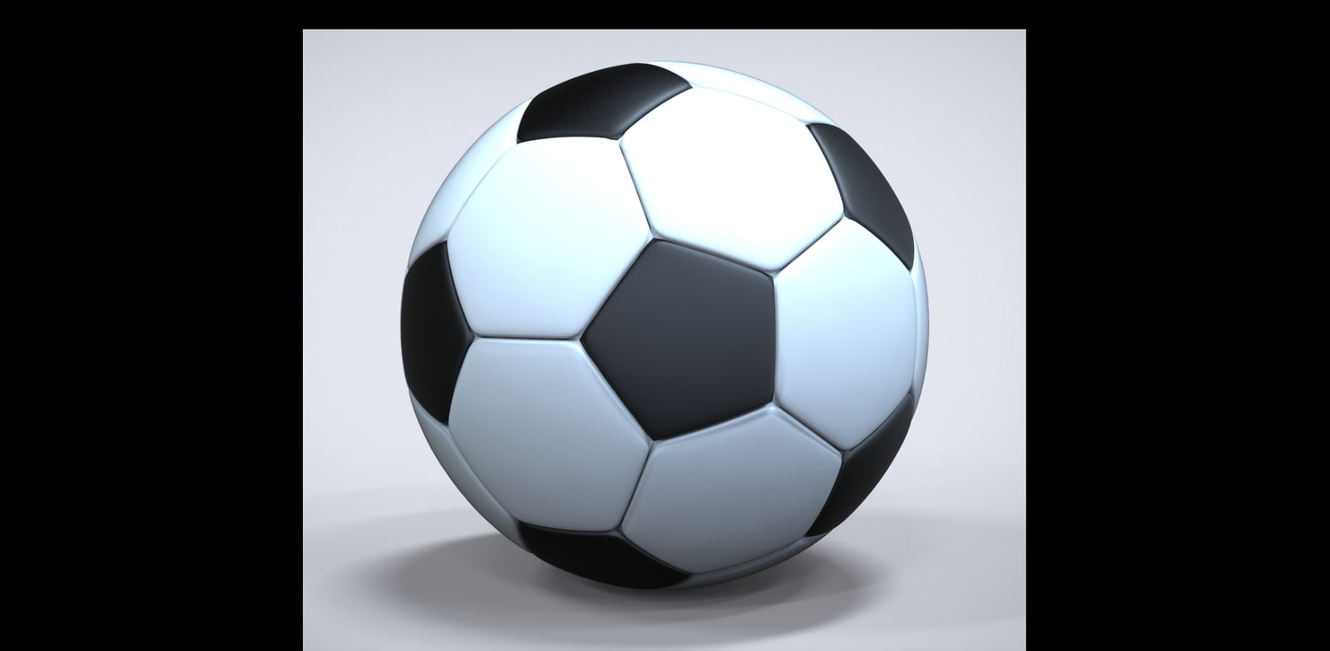 3ds max football