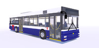 city bus man nl 3d 3ds