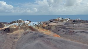 3d south landscape america model