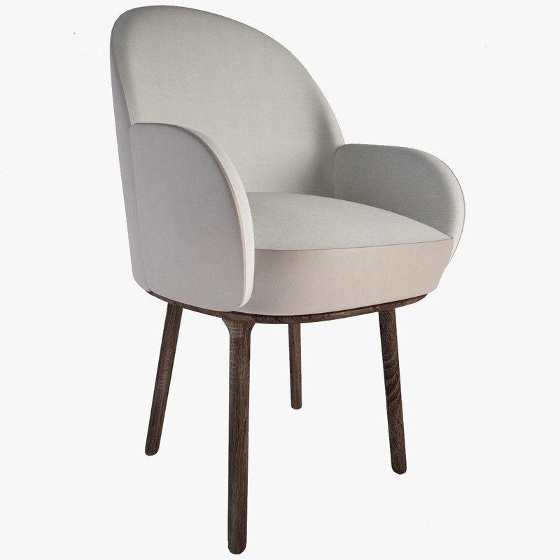 3d beetley small bridge armchair model