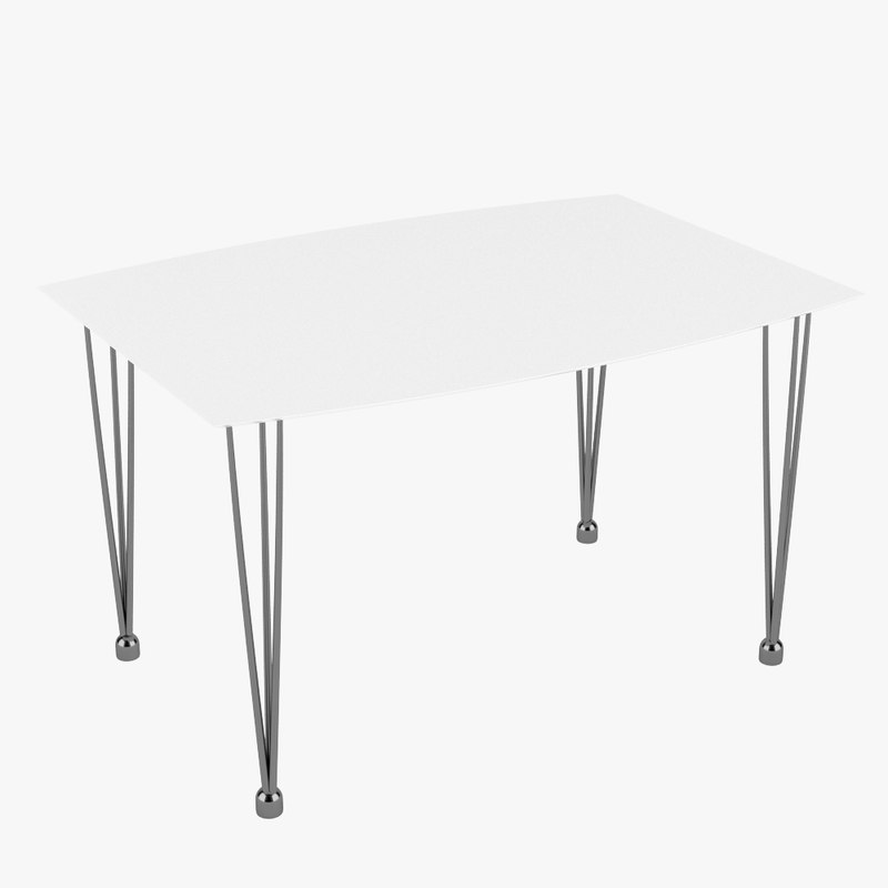 table realistic 3d max