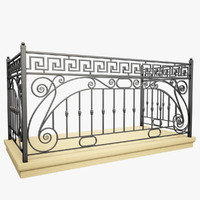 Wrought Iron Balcony 1