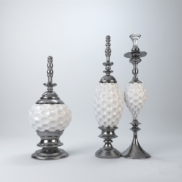 3d decorative vase model