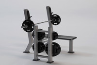 3d model exercise equipment