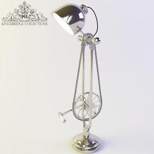 lamp kingsbridge 3d model