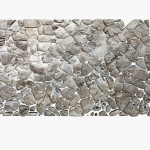 stone block pavement 3d model