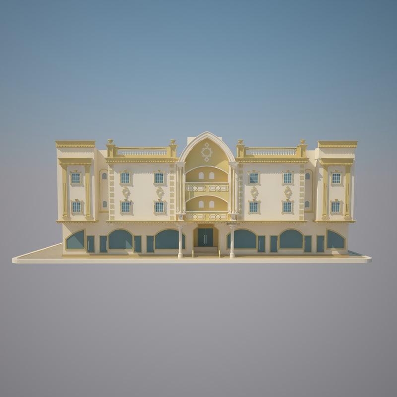 3d model hangzhou capital