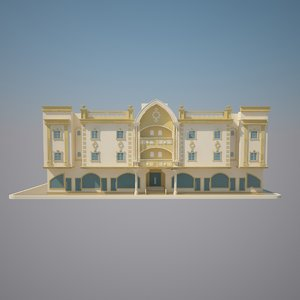 3d model hangzhou capital