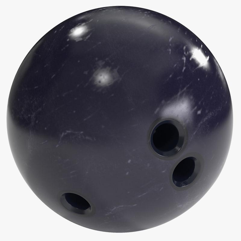 bowling ball 3d max