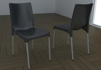 chair gaber 3d max