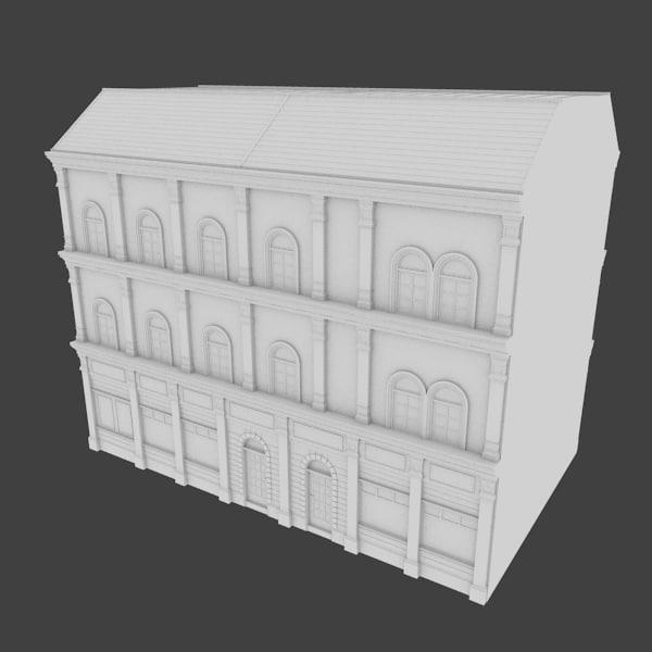 maya building facades