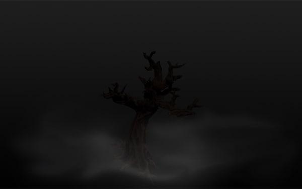 creepy tree 3d model