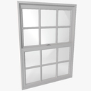 Double Hung Window 3D models