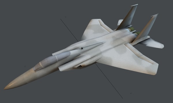 f-15a c eagle fighter 3d 3ds
