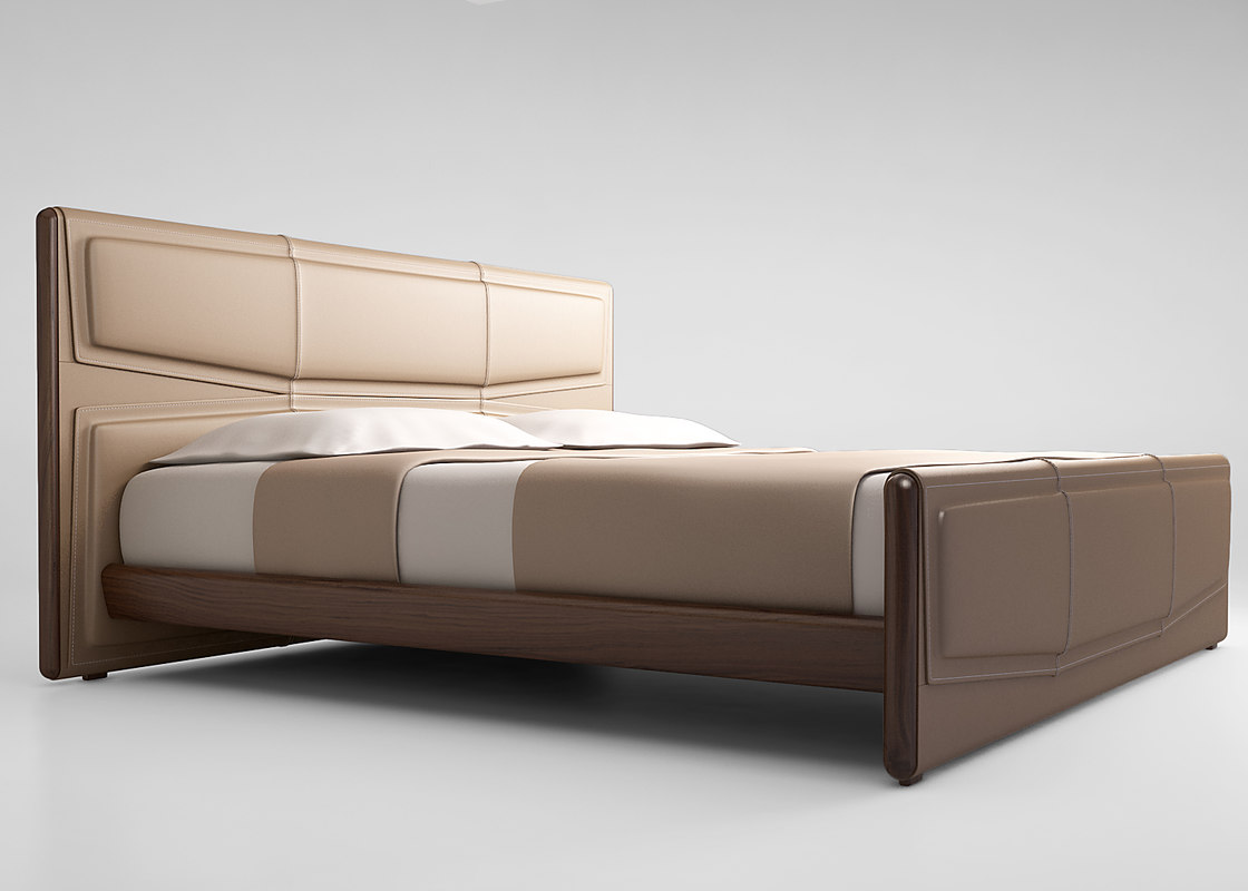 3d model giorgetti bed pochette for Beds 80 off