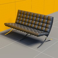 Mies Van Der Rohe Couch