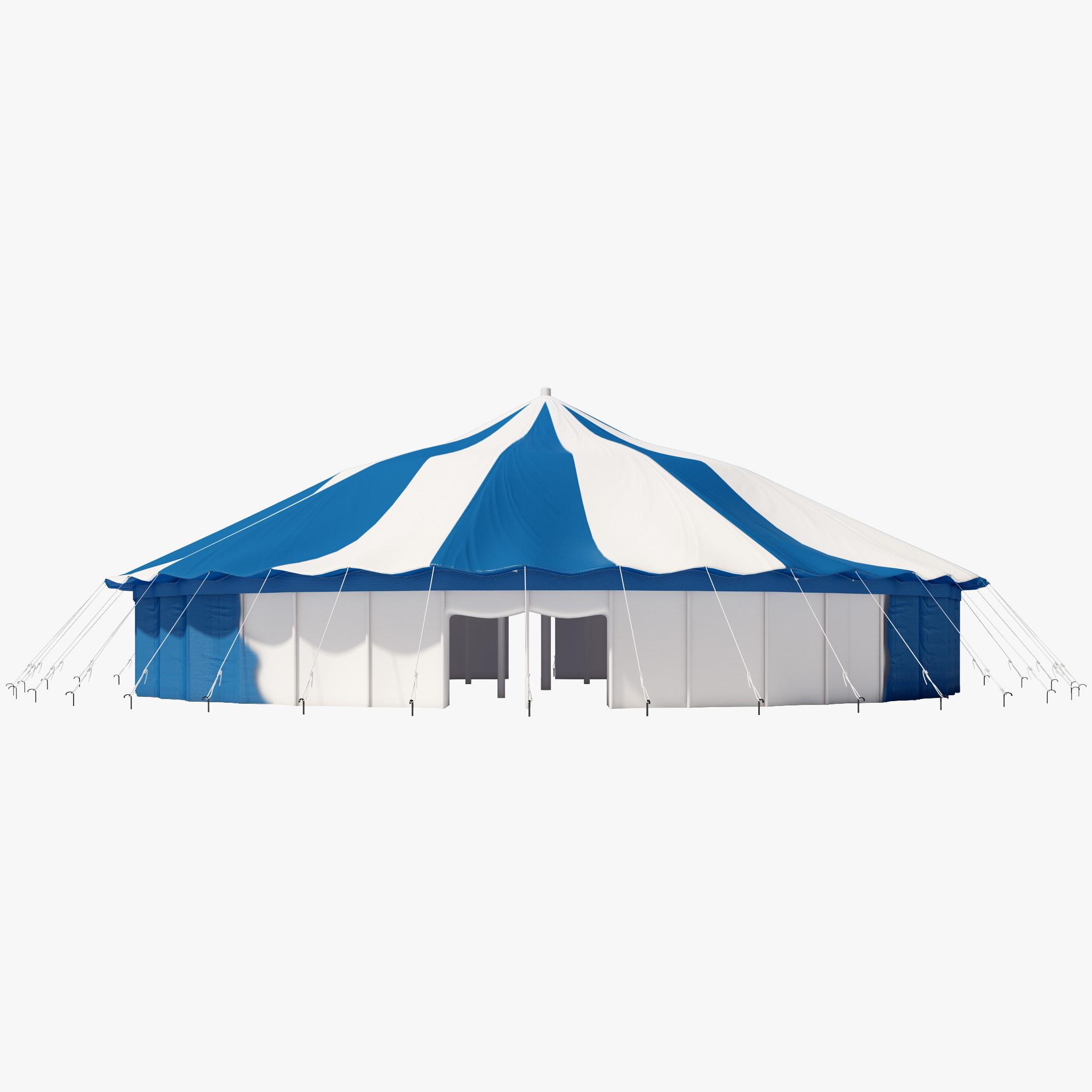 3d model party tent