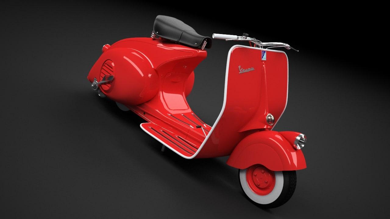 scooter vespa 98 1946 max