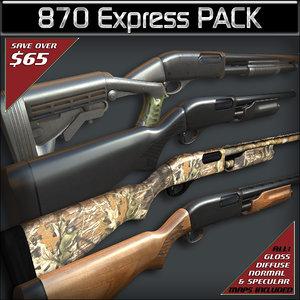 max pack remington 870 express