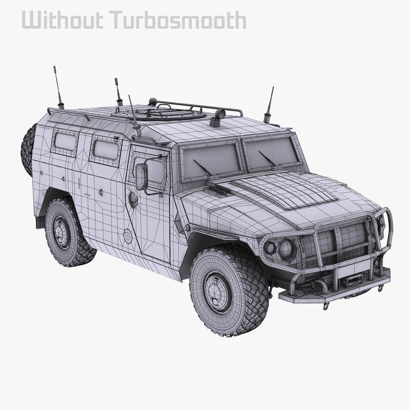 3d gaz 2975 2330 model