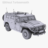 GAZ-2975/2330 Tigr High Poly