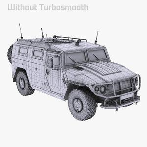 3d gaz tiger 2975 2330 model