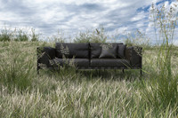 tribu natal alu sofa 3d max