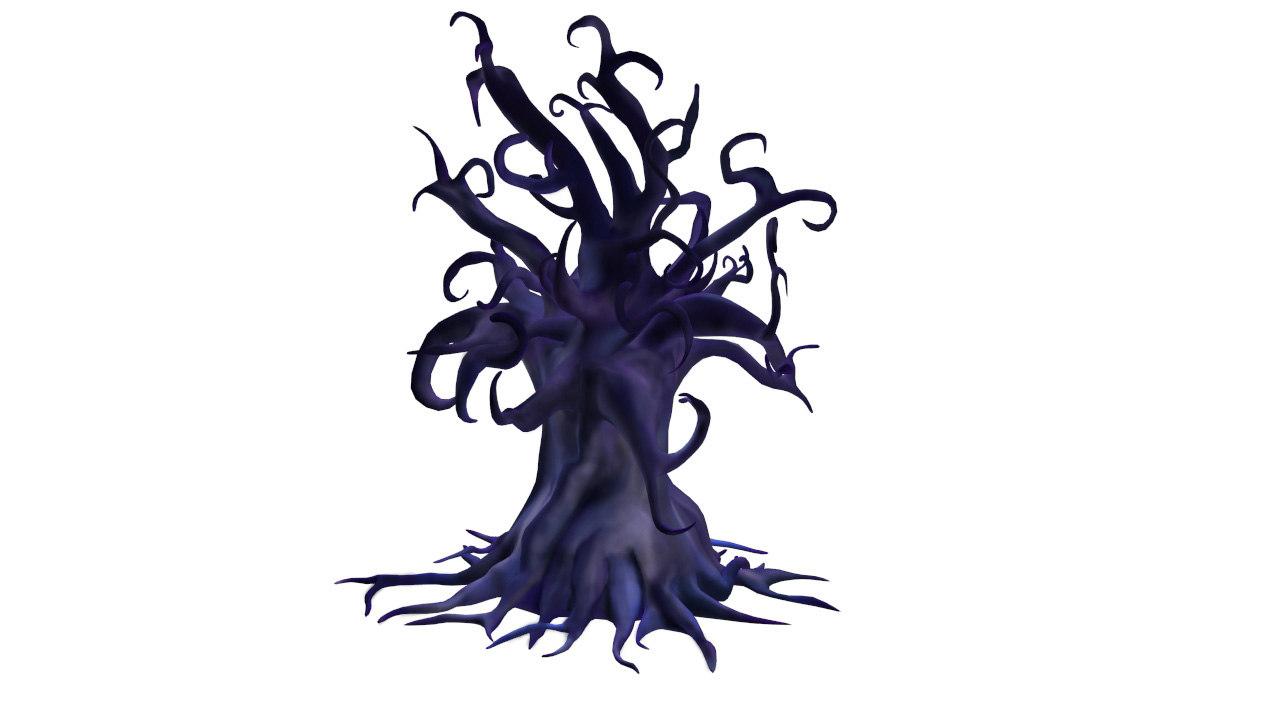 fantastic tree 3d max