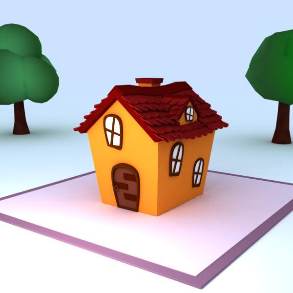 Home 3d model for Home 3d model