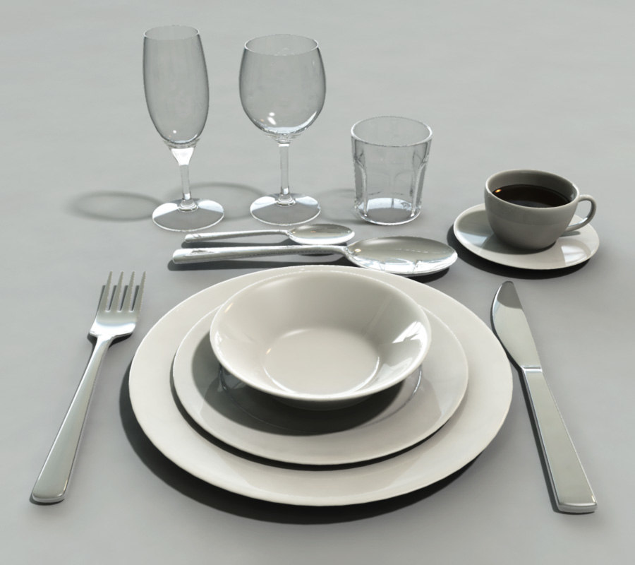 set tableware max