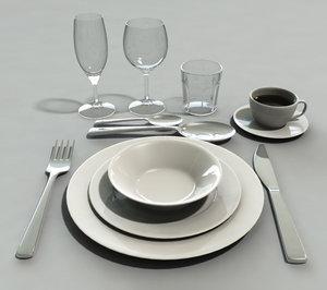 set tableware max