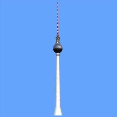 3ds tv-tower berlin