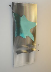 3d model heater line