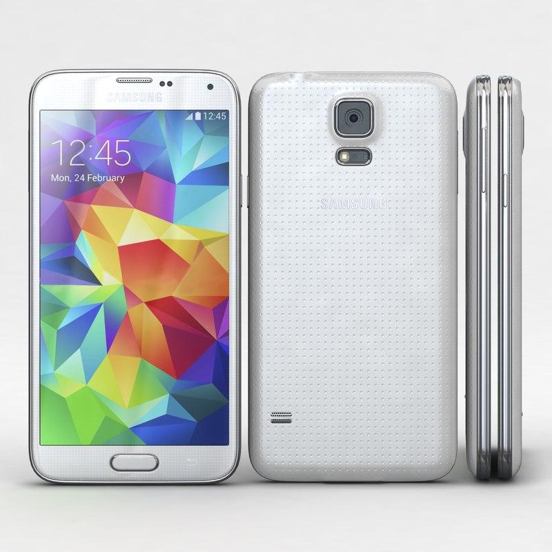 samsung galaxy s5 white 3ds