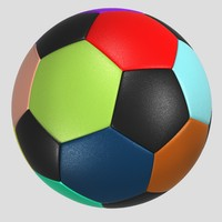 Soccer Ball Colorful