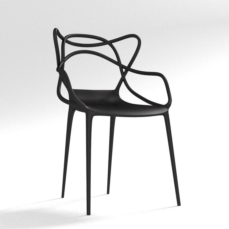 kartell masters chair obj