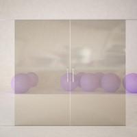 Sliding Glass Door Animated