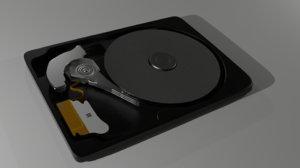 blend hard drive